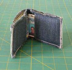 Do it yourself denim wallet