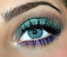 Teal nice with lavender.