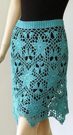 Ravelry: Galaxy Skirt pattern by Doris Chan Black Crochet Dress, Crochet Skirts, Knit Skirt, Crochet Clothes, Dress Skirt, Moda Crochet, Knit Crochet, Crochet Pattern, Free Pattern