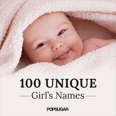 Unusual Girls' Names | POPSUGAR Moms