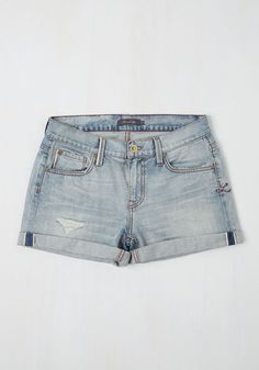 Deschutes the Breeze Shorts in Light Wash, @ModCloth