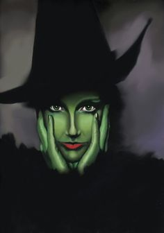 We are giving you some Easy Halloween face painting ideas for adults so you can try it once at home before going for a Halloween party.The face painting giv Wicked Witch Costume, Halloween Makeup Witch, Witch Makeup, Fete Halloween, Halloween Looks, Halloween Costumes, Samhain Halloween, Wizard Costume, Witch Costumes