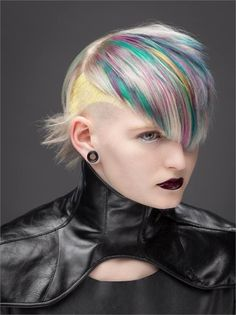 FORMULA: Disrupted Rainbow - Hair Color - Modern Salon