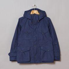 Nanamica Gore-Tex Cruiser Jacket in Ink Blue
