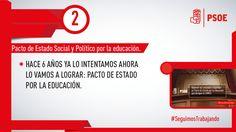 Conseguimos crear una subcomisión para impulsar una ley educativa que perdure en el tiempo y sea de consenso #SeguimosTrabajando #PSOE
