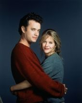 """Tom Hanks & Meg Ryan - Sleepless in Seattle, 1993 -- Watch this movie (AND """"You've Got Mail""""  every time I can."""