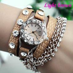 bec007a3970 Relógio pulseiras várias cores - frete grátis - LEIA DE DESCRIÇÃO COM  MEDIDAS E PRAZO DE ENTREGA