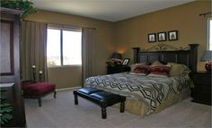 Master bedroom from our Tucson, AZ team!