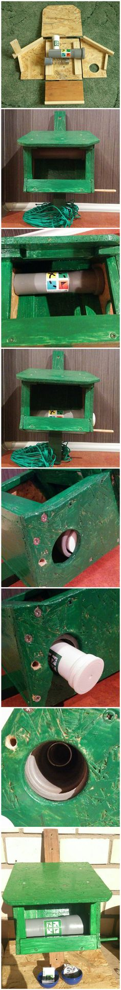 Muggles see a bird feeder. Geocachers find the logbook! A nice hide, and good variation from the typical bird house geocache. (pics from Facebook stitched together by I.B. Geocaching & pinned to Birdhouse Geocaches - https://www.pinterest.com/islandbuttons/birdhouse-geocaches/) #IBGCp
