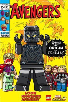 The AVENGERS (COMICS) | Lego Marvel SUPER HEROES