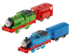 Fisher-Price Thomas The Train Trackmaster Thomas and Percy Bundle