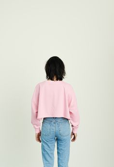 That's All Porky Cropped Sweatshirt