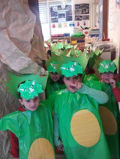 Ayer celebramos el desfile de carnaval en el cole y fue muy divertido,todo el colegio se disfrazo y bailó al ritmo de la música.  En infanti...