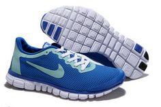 new concept b3700 73af3 Nike Free 30 Running Black Sky Blue