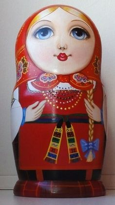 Matryoshka - Russian nesting doll.‍♀️matryoshka‍♀️ (Russian nesting doll)‍♀️More Pins Like This At FOSTERGINGER @ Pinterest