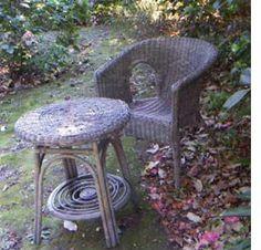 restore paint wicker furniture rust-oleum