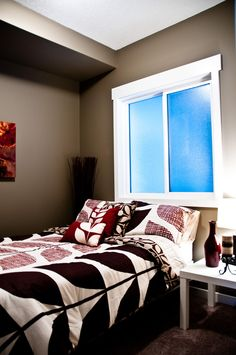 This is our product. #SteelandConcrete #NewConstruction #Condo #YEG #GuestBedroom