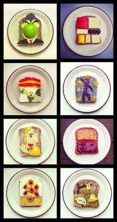 Norwegian artist Ida Skivenes takes playing with food to a whole new level. The 29-year-old artist has never attended art or culinary school, but was inspired by her love of food, art, and photography to start recreating famous paintings on her breakfast toast.