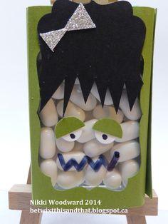 Halloween treats, tic tacs :)