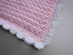 Baby Car Seat Blanket Pink by Cherylsknits by CherylsKnits on Etsy, $35.00