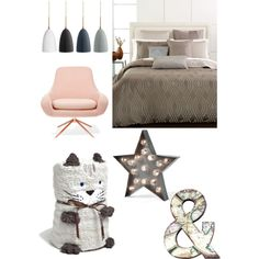 Nudes Bedroom by stephanie-rozek-paris on Polyvore featuring polyvore, interior, interiors, interior design, home, home decor, interior decorating, Hotel Collection, Zara Home, Graham & Brown and bedroom