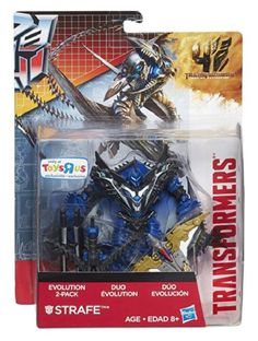 Transformers Age of Extinction Store Exclusive Strafe  Gen 1 Swoop Evolution 2Pack DinoBot >>> Continue to the product at the image link.