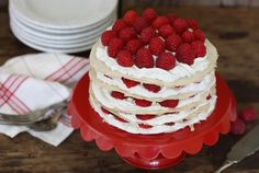The Spunky Coconut Gluten-Free Raspberry Crepe Cake Recipe Paleo Dessert, Gluten Free Desserts, Just Desserts, Food Cakes, Cupcake Cakes, Cupcakes, Recipes With Coconut Cream, Coconut Whipped Cream, Paleo Treats