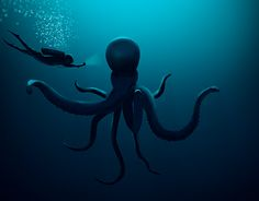 """Check out new work on my @Behance portfolio: """"Octopus"""" http://be.net/gallery/49025843/Octopus"""