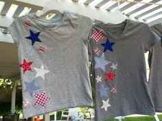 Jedi Craft Girl: 4th of July t-Shirts