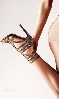 Strappy Sandals . . . #stilettos