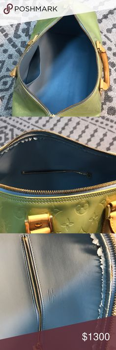 7629aef3c05e Shop Men s Louis Vuitton Green Blue size OS Luggage   Travel Bags at a  discounted price at Poshmark. Description  see orig post——-firm.