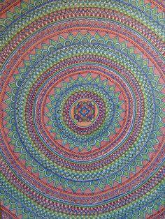 ➳➳➳☮American Hippie Art - Mandala