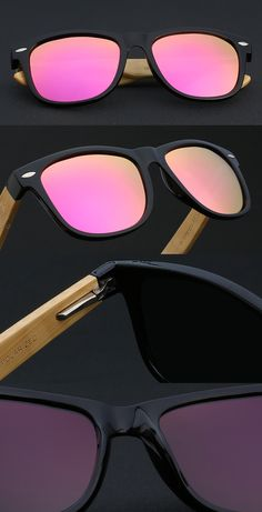 8e72315dcb0 Wayfarer Wooden Polarized Sunglasses Wayfarer Wooden Polarized Sunglasses. Loot  Lane