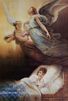 Sweet Dreams, Guardian angels keep watch over you....