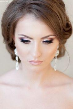 Прически на свадьбу и макияж