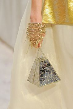 Chanel. Pre-Fall 2012. The Details. Bags and Bangles