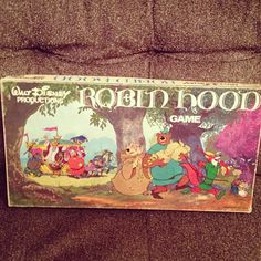 Robin Hood disney board game vintage