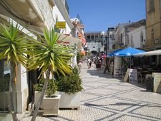 The Old Town Albufeira still with its charm