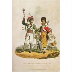 Drum Major & Pioneer 1815 Uniform Postcard (U13369) Listing in the Military,Postcards,Collectables Category on eBid From somersethedge