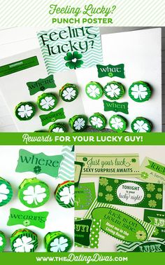THIS is something my spouse is gonna L.O.V.E. - a Punch Poster with rewards for him (if he is lucky! Wink wink!) www.TheDatingDivas.com St Pattys, St Patricks Day, I Love My Hubby, Erin Go Bragh, Diy Shops, Dating Divas, St Paddys Day, Good Dates, Luck Of The Irish