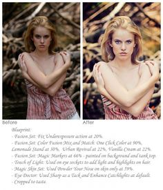 Smoother Skin, Brighter Eyes, Better Exposure: Step-By-Step with Photoshop Actions