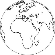 Planet Earth Coloring Page Lovely Earth Globe Coloring Page Wecoloringpage 067 African Awareness Earth Day Coloring Pages, Lds Coloring Pages, Space Coloring Pages, Coloring Pages To Print, Free Printable Coloring Pages, Planet Colors, Planet Drawing, Kindergarten Coloring Pages, Middle Earth Map