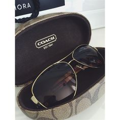 Coach sunglasses 100% authentic, receipt upon request. Comes with free cleaning and adjustments. Used but in perfect condition. Coach Accessories Sunglasses