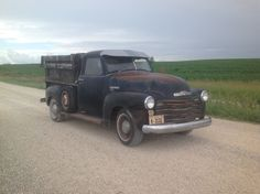 Chevrolet: Other Pickups Runs Drives! 1950 chevy pick up truck rare patina original runs drives survivor with video