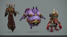 World of Warcraft - Legion - Demons , Kelvin Tan on ArtStation at https://www.artstation.com/artwork/gVx2K