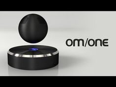 OM/ONE: The world's first levitating bluetooth speaker ‪#‎BluetoothSpeaker‬ ‪#‎WirelessSpeakers‬ ‪#‎BestSpeaker‬