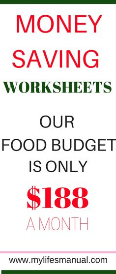 Are you feeling frustrated with your current budget? Do you need to save money but you really love the food and products you already buy? Introducing the money saving worksheets that can help you save money while not giving up healthy food! #food #savemoney (affiliate link)