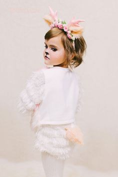 DIY Fawn costume from Whippycake