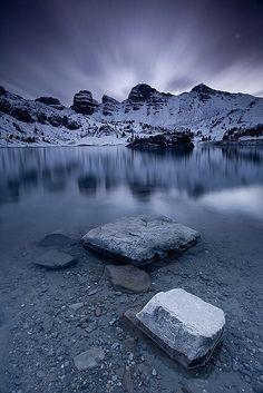 Allos Lake, France