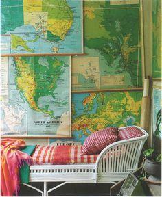 vintage maps !!